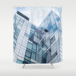 New York Building Shower Curtain