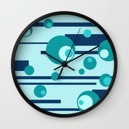 Geometry Design Circles Wall Clock