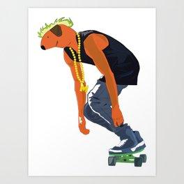 Ramon Urban Version Art Print
