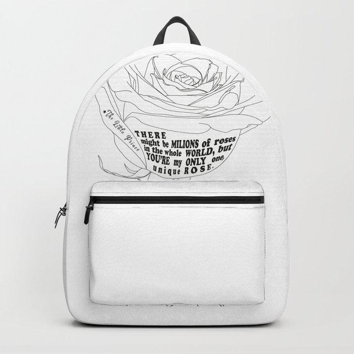 Unique Rose Backpack