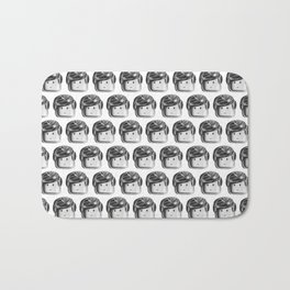 Minifigure Pattern Bath Mat