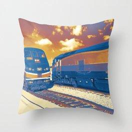 Socal Rail Throw Pillow