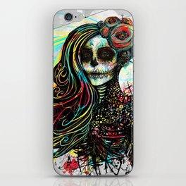 Vivid Muerte iPhone Skin