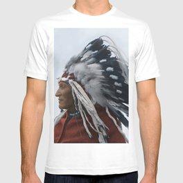 Lazy Boy - Blackfoot Indian Chief T-shirt