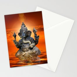 Elephant God Ganesha Stationery Cards