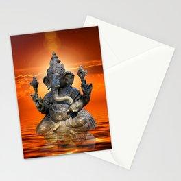 Elephant God Ganesha Stationery Cards