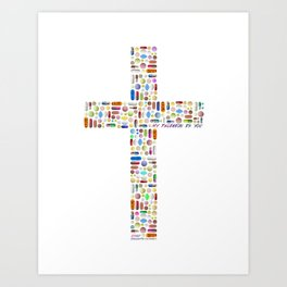 My Religion Is You Art Print