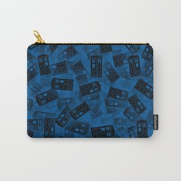 Tardis pattern Carry-All Pouch