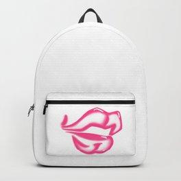 Pink lips -LBC Backpack