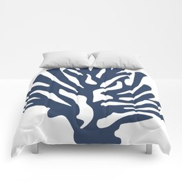 Blue coral Comforters