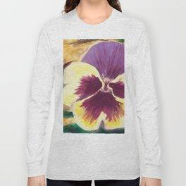 Pretty Pansy Long Sleeve T-shirt
