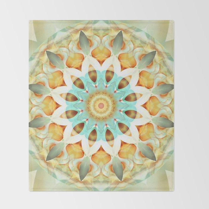 Mandala soft touch Throw Blanket