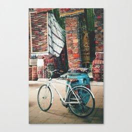 Marrakech Bicycle Canvas Print