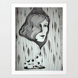 desagotando hasta el alma Art Print