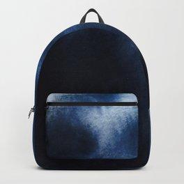 Watercolor Blue Backpack
