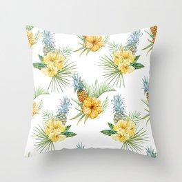 Pineapple Pattern 01 Throw Pillow