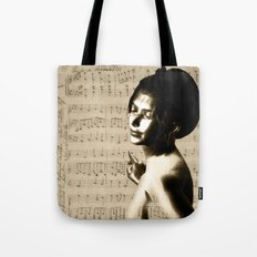 Music Lover National Anthem of New Zealand Tote Bag