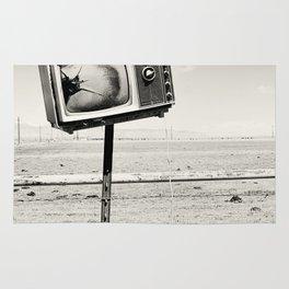Desert TV Photograph Rug