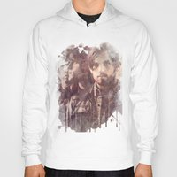leon Hoodies featuring kings of leon by Nechifor Ionut