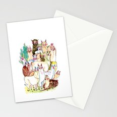 Wild family series - Llama Party Stationery Cards