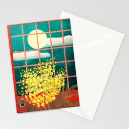 I look outside Stationery Cards