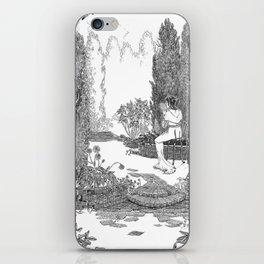Le Jardin Secret iPhone Skin