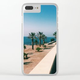 Mojacar Meandering Clear iPhone Case