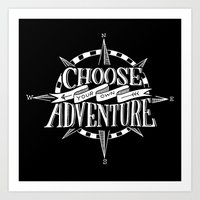 Choose Your Own Adventure Art Print