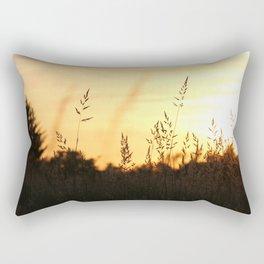 Sunset approaches Rectangular Pillow