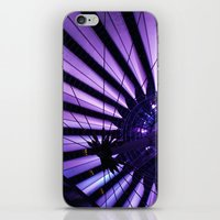 surrealism iPhone & iPod Skins featuring City Surrealism by Notions