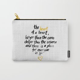 The Heart Of A Heart Carry-All Pouch