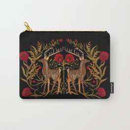 Two Stags Protecting The Dark Forest Gate Carry-All Pouch