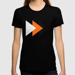 Forward arrows marble orange T-shirt
