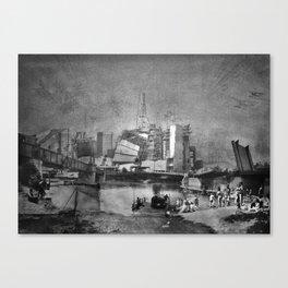 Rivercrossing Canvas Print