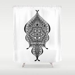 Doodle Flow Shower Curtain