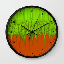 Chemical Spill Wall Clock