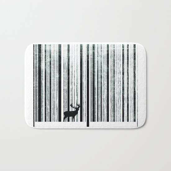 To scan a forest. Bath Mat