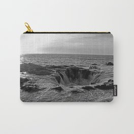 Thor's Well in B/W Carry-All Pouch
