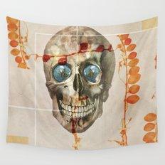 skull#04 Wall Tapestry
