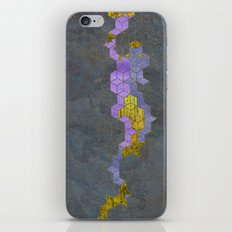 eroded gold iPhone & iPod Skin