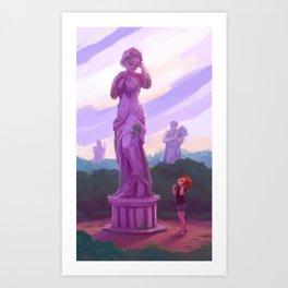 Pedestals Art Print