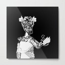 hominum_I_BLACK&WHITE Metal Print