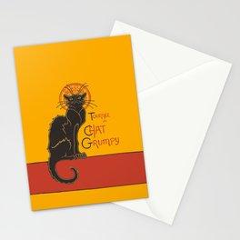 Tournee du Chat Grumpy... Stationery Cards