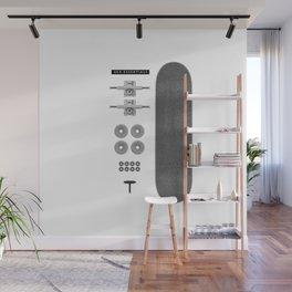 Sk8 Essentials Wall Mural