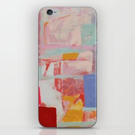 Rooftop Kiss iPhone Skin