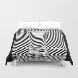 Striped Water Duvet Cover