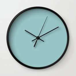 Slate Blue Wall Clock