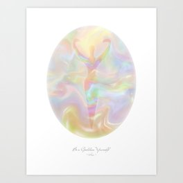 Be a Goddess Yourself Art Print