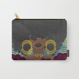 SHE KNOWS HER WORTH Carry-All Pouch