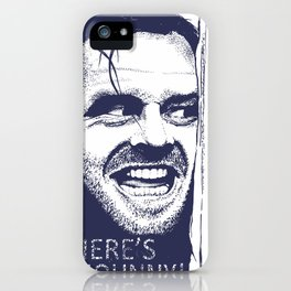 Here's Johnny! iPhone Case